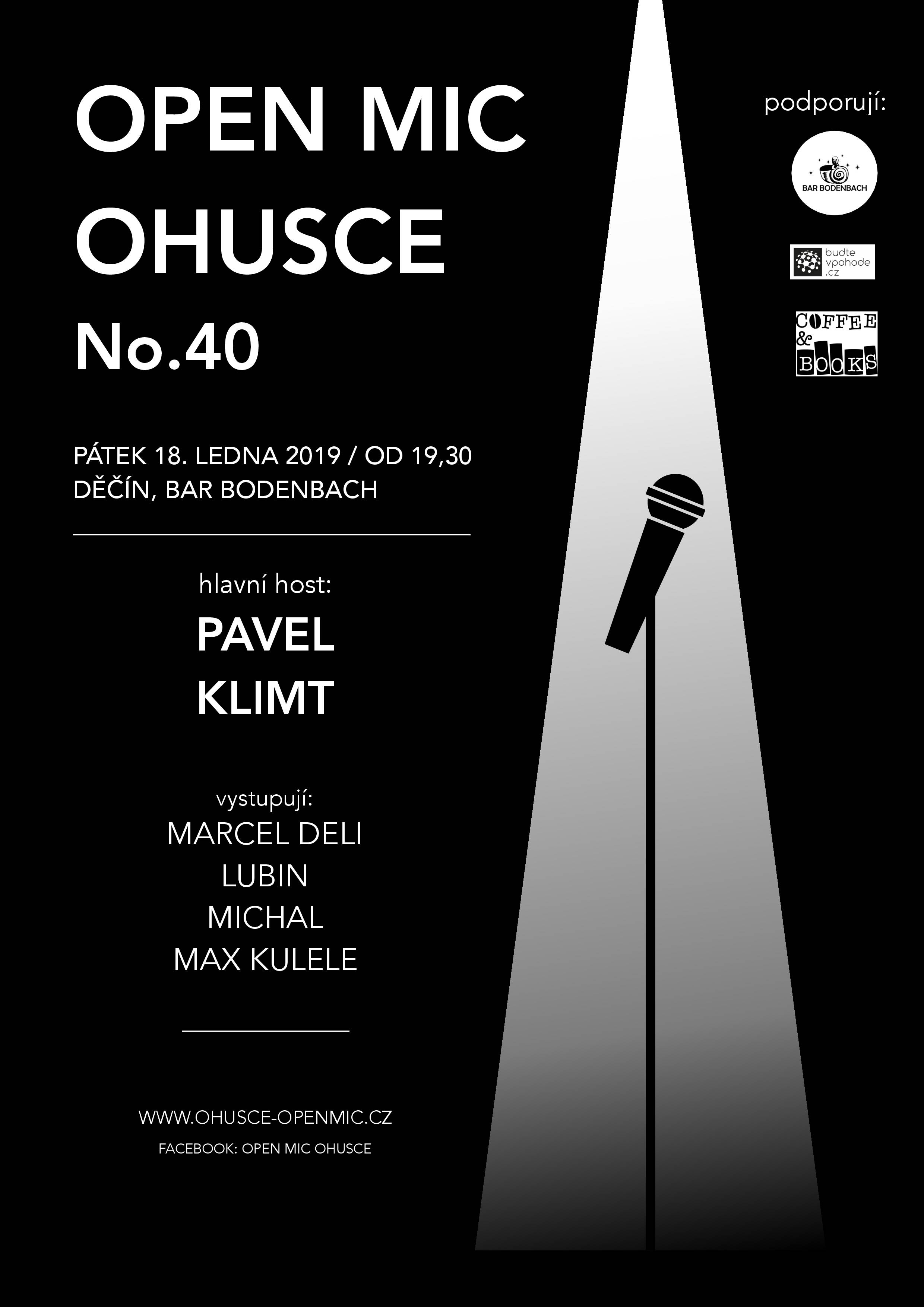 OHUSCE 40 poster